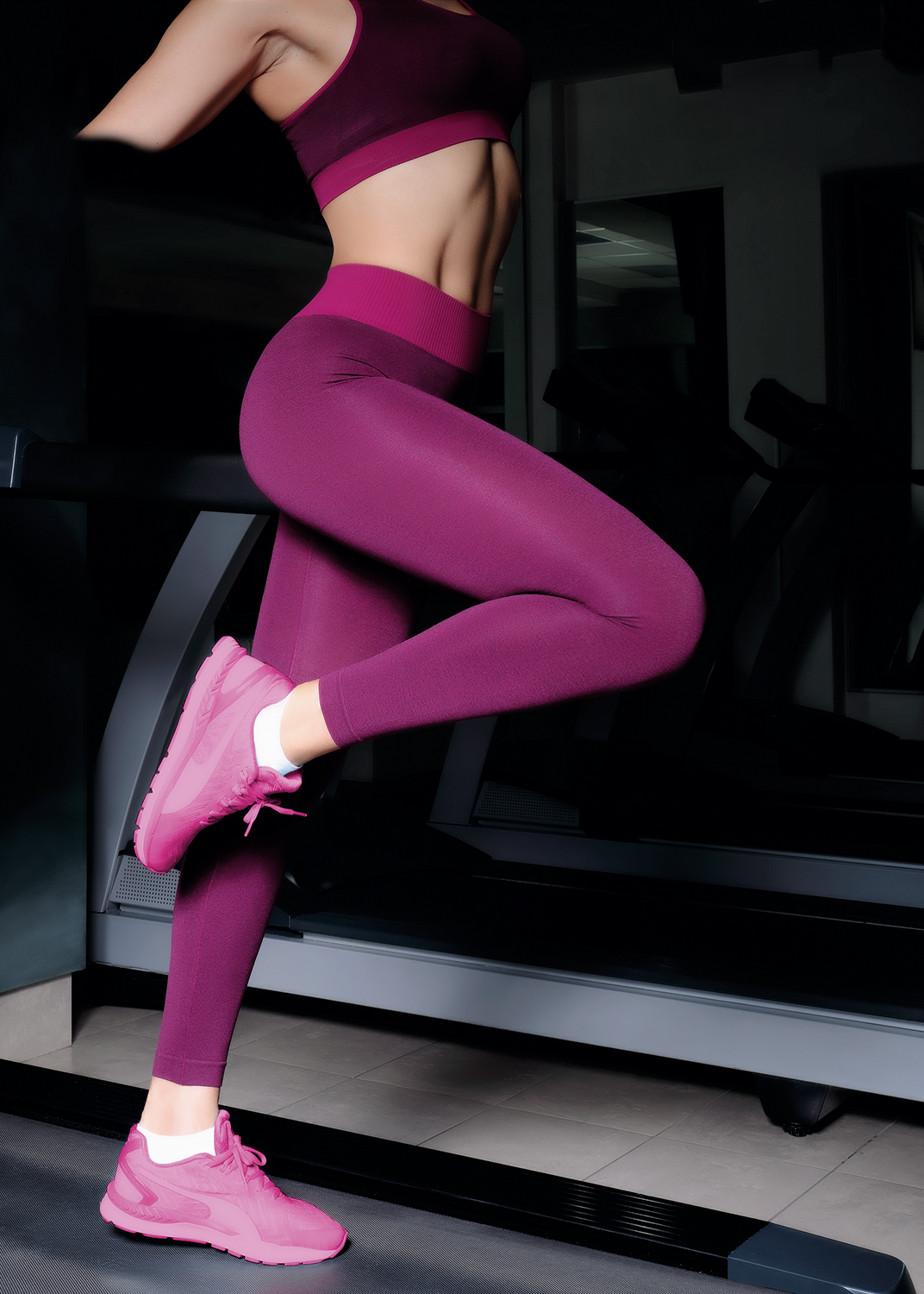 Leggings Sport Melange Color от Giulia