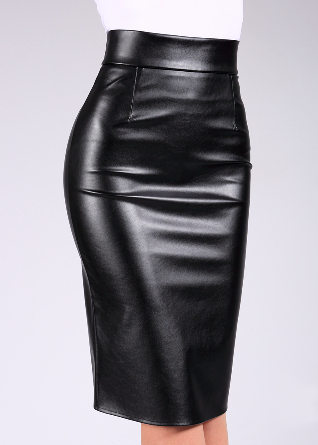 Pencil Skirt Leather 01 от Giulia